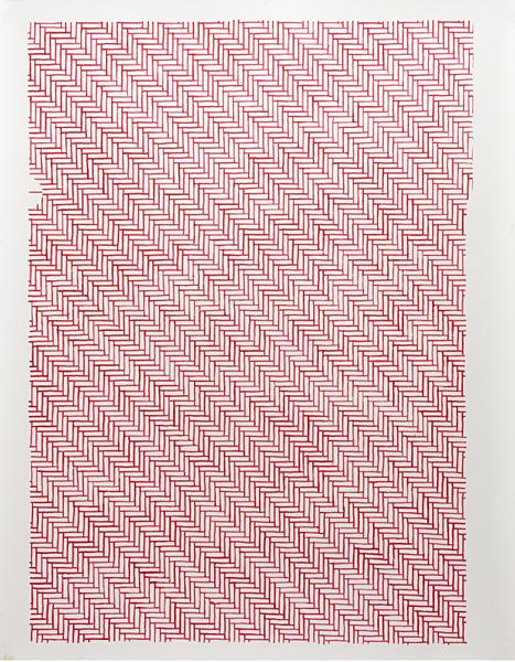 treeknot: Marijn van Kreij Untitled (Private & Confidential), 2010 Acrylic on paper 29.7 x 21cm