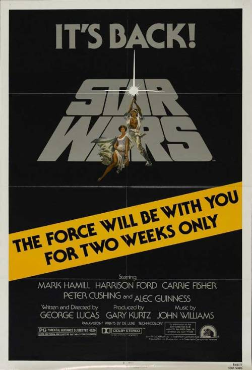 fuckyeahmovieposters:  Star WarsSubmitted by cinemanu