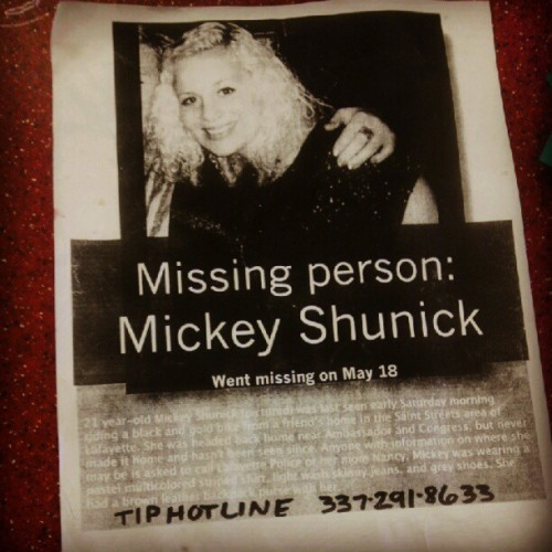Hope They Find Her ;( (Taken with instagram)