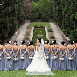 Absolutely flawless wedding at an Italian villa hidden in Los Angeles!