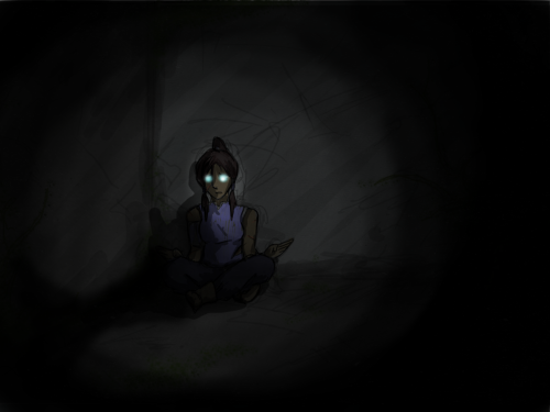 polarbeardog:  chongthenomad:  thekorrabible:  I drew Korra in her prison. Finally becoming able to communicate with Aang.   WOAH  oh that's canon for me now. She has to contact them while she's in prison and then with the strength of her new knowledge she can break out.. alksdjflaksjdf eeekkk