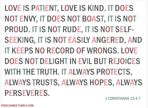 1 Corinthians 13:4-7…TRUE LOVE. watch Church online at www.oasischurch.tv