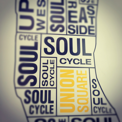 MYBsocial at SOULcycle with Beth, Caroline & Rae!! We workout better when we workout together.   #mybsocial