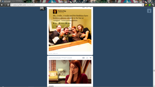 jeradenjoyshisburrito:  another happy coincidence on Tumblr