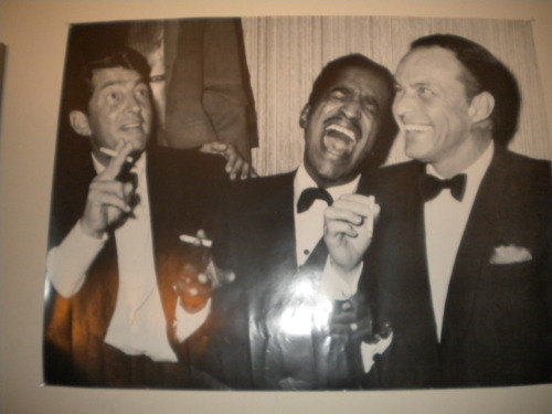 Rat Pack on the Wall of The WISE Studios-(Photo tooken by Cadillac CAT)