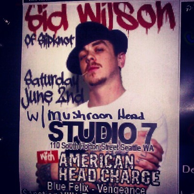 Show tonite in Seattle @sidthe3rd  @mach2point8ent @tmvsc (Taken with Instagram at Studio 7)