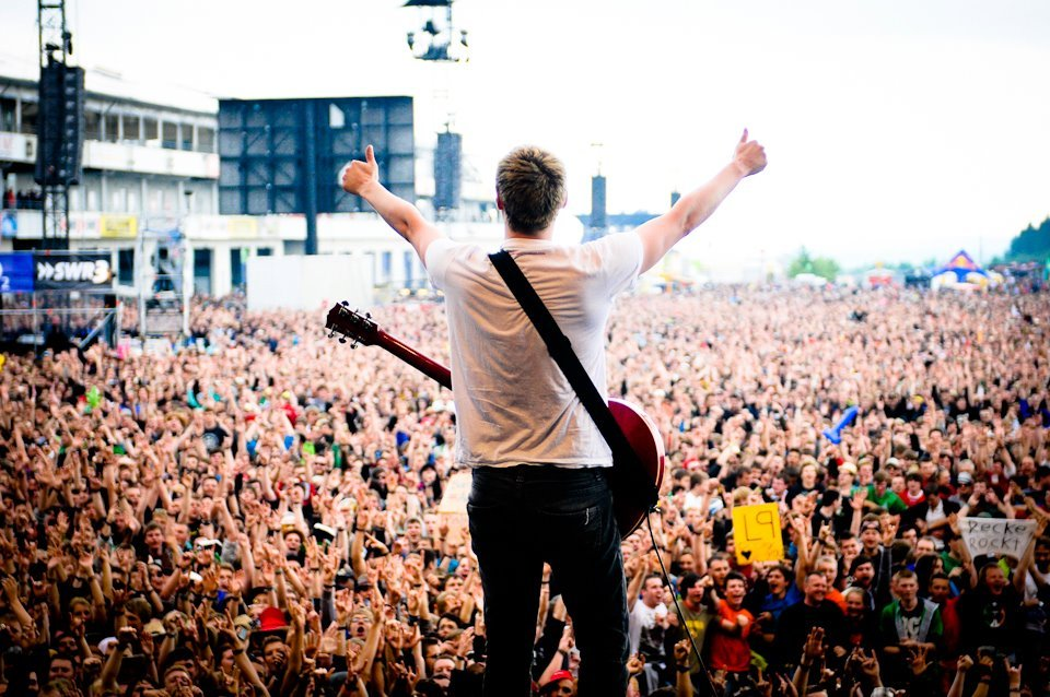 The Subways - Rock Am Ring 2012. (Photo by http://bjoernjansen.com)