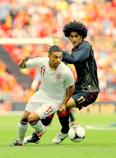 2012 June 2nd is the day when Alex Oxlade-Chamberlain made his debut for England senior team.