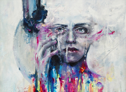 urhajos:  a hint of color by =agnes-cecile
