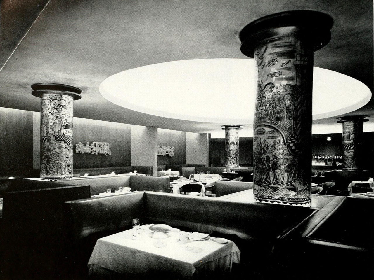 Inside the Grill of the Hotel Pierre, New York