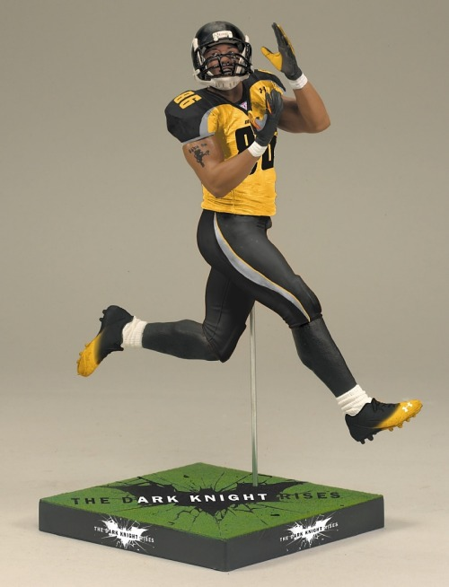 Looks like I'll have a new addition to my collection of McFarlane sports figures come October.  Now UnderArmour just needs to go ahead and announce they are releasing a Ward jersey.