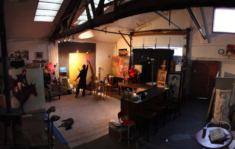 Gabriel Mark Lipper's studio