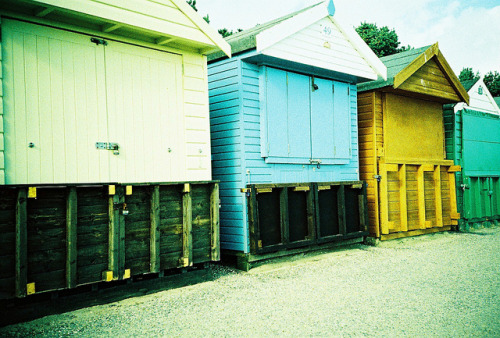 Beach huts on Flickr.