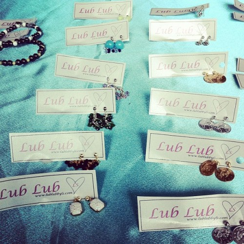 #spreadthelub with #lublubbyls #ss12 #earrings (Taken with instagram)
