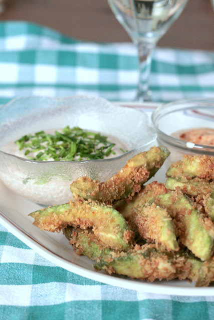 Avocado Fries with Spicy Dipping Sauce- Indigo Scones