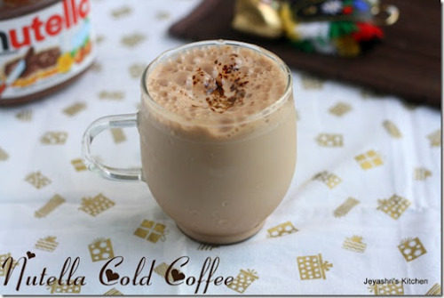 Nutella Cold Coffee- US Masala