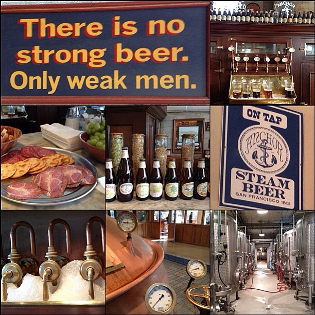 anchorbrewing:  Cheers to Lauren for sharing this cool photo collage from our brewery tour. #RaiseYourAnchor (Taken with instagram)
