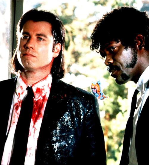 tarkowski:  John Travolta & Samuel L Jackson in Pulp Fiction