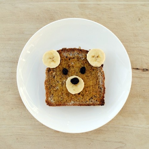 butterflygrace:  Cute Foods / teddy bear french toast on We Heart It. http://weheartit.com/entry/29750568