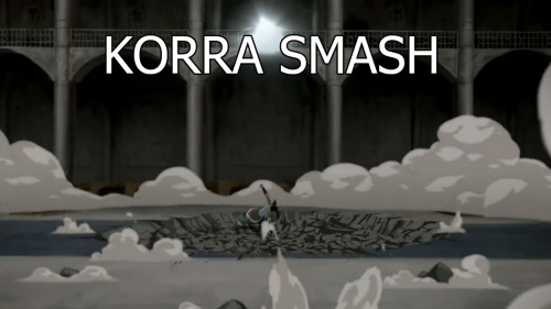 This is probably my Avenger feels leaking through to the Korra fandom. :3Korra smash puny Tarlok.