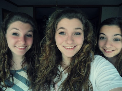 i'm a triplet, and my twins look nothing like me… awks.