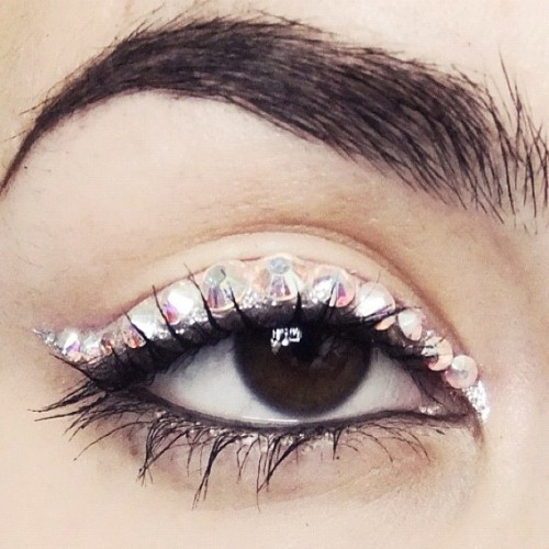 Crystal Eyeliner by me ✨ Follow me on instragram! @nataschap