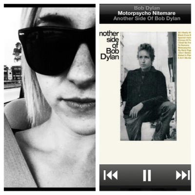 #picstitch #hellocali #california #sun #home #missedthis #bobdylan #groupie #music  (Taken with instagram)