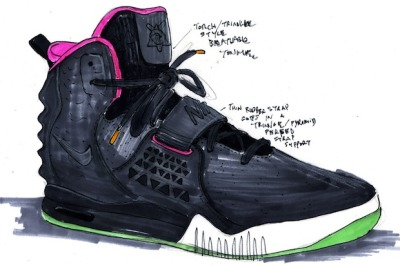 [The Nike Air Yeezy II][Set to drop on June 9th, 2012] My friend Darrian told me that people are already lining up in New York City to cop a pair of the new Yeezy IIs, which are set to drop one week from today. I think that's completely crazy, but I get their excitement. I really want a pair too. The release price isn't much of an issue for me, but I'm sure finding a pair will be nearly impossible after the first weekend. Oh well… I'll get over it.