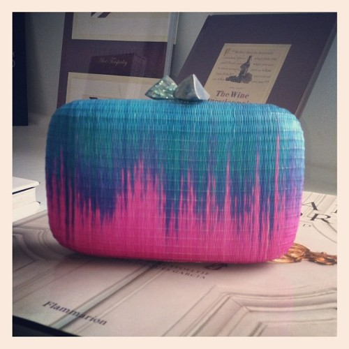 Clutch Crush! Found This New Summer Stunner at Calypso #accessories  #dailyglam (Taken with instagram)