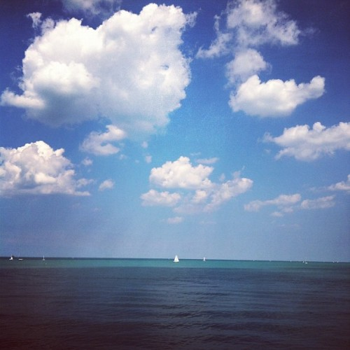 Lake Michigan. (Taken with instagram)