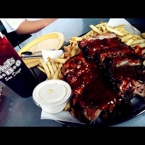 Phil's BBQ, full rack!