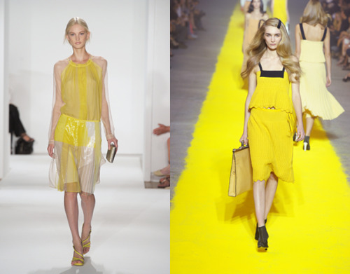 teenvogue:  Take a cue from the Spring runways and brighten up your space with sunny yellow room decor and accessories. Check out our top bedroom picks here »