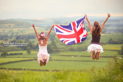 Fly the Union Jack - Jump #83 of #100 on Flickr.Share if you love this weekend & the union jack! ♥
