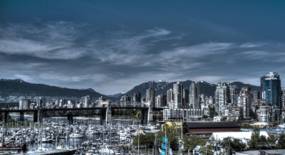 Vancouver Skyline, by Melanie Courage