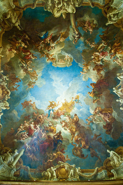 arthistory-blog:  The Apotheosis of Hercules by François Lemoyne (1668 - 1737)
