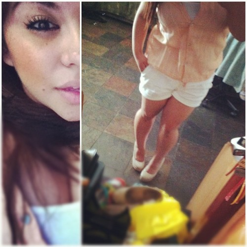 #OOTD #shorts #wedges (Taken with instagram)