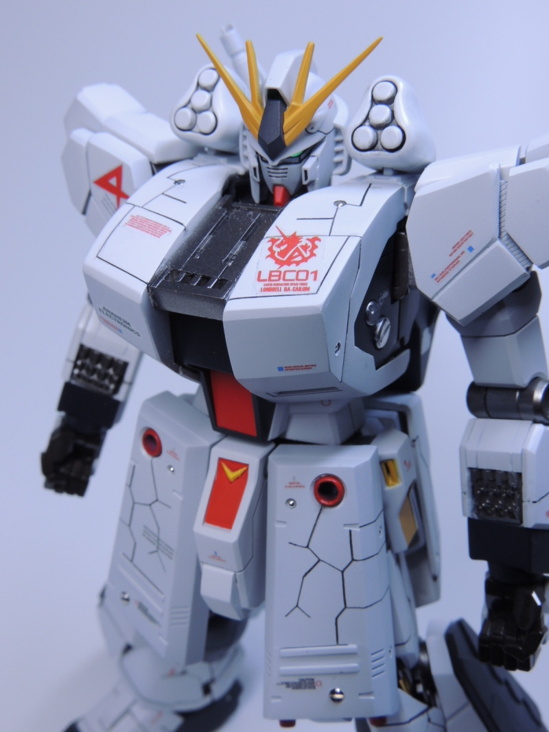 G-Work of The Day: HGUC 1/144 Nu Gundam HWS remodeling: Photoreview No.21 Big Size Images