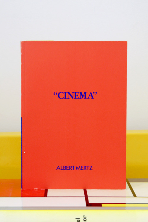 "Albert Mertz, ""Cinema"" Imschoot, Gent, 1988 5¾ x 8¼ inches (14½ x 21 cm) $130 PURCHASE"