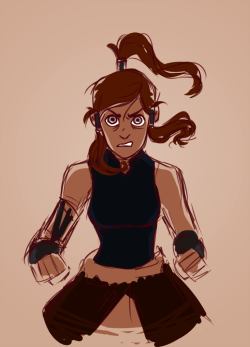 notgroovy:  korra doodle that i may or may not finish IDK BUT THE NEW EPISODE WAS SO GOOD MAN