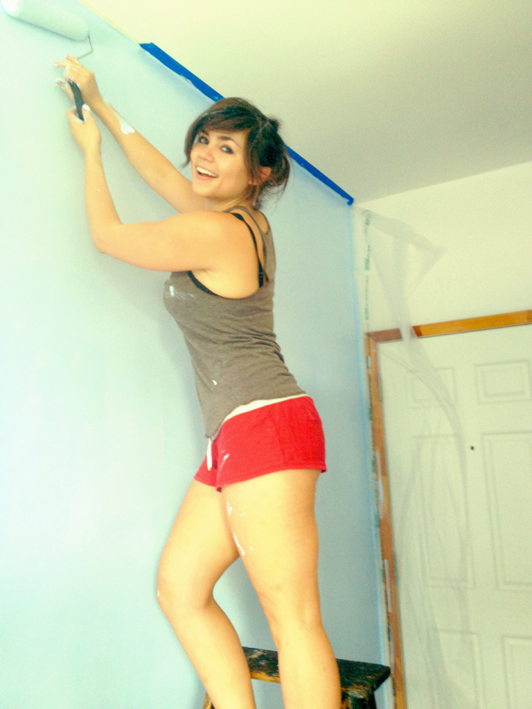 Painting my new place!