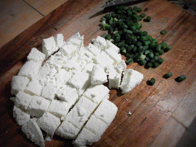 awsnappp:   Day 22 of The Summer of 99 Novelties Paneer! After I made paneer, I made palak paneer - but I didn't take pictures of that because 1. it wasn't very pretty and 2. I ate it, as what it lacked in appearance it made up for in taste.  Also, if you want to know how to make Paneer (Indian cheese) or Palak Paneer (spinach and cheese), Manjula is your friend.