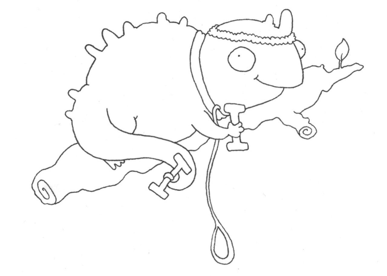 galapagos iguanas coloring pages - photo #17