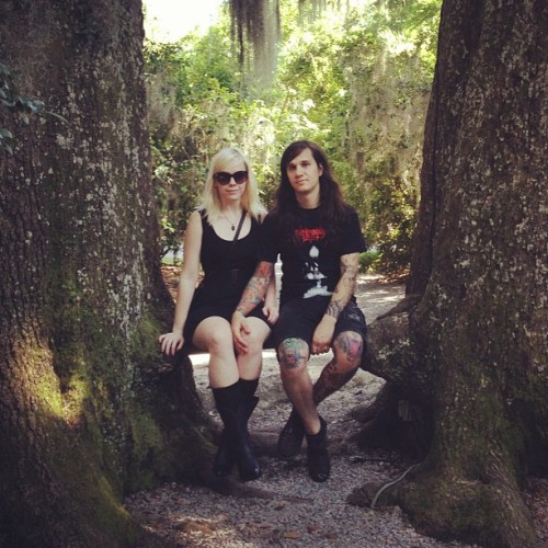 we love trees..✌ (Taken with Instagram at Magnolia Plantation and Gardens)