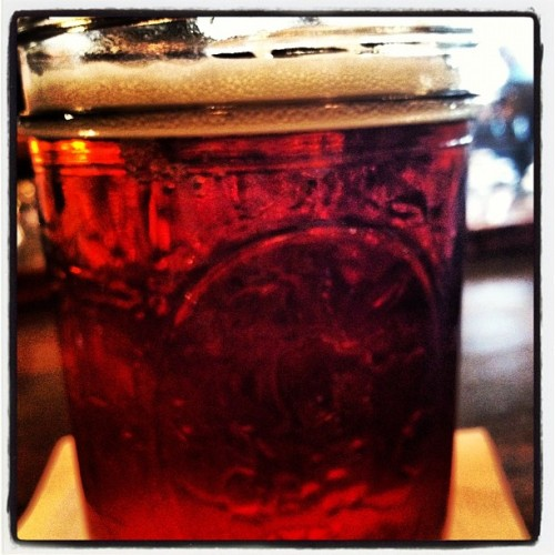 Alaskan Amber…when in Rome  (Taken with instagram)