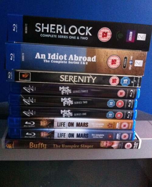British Blu-Ray Invasion!!!!!!!