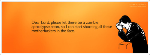 Dear Lord Zombie Apocalypse Facebook Cover
