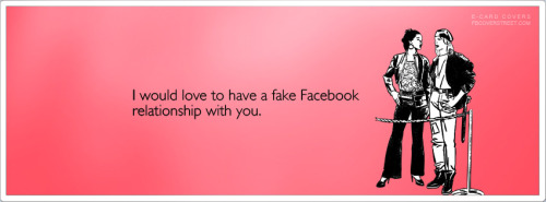 Fake Facebook Relationship Facebook Cover