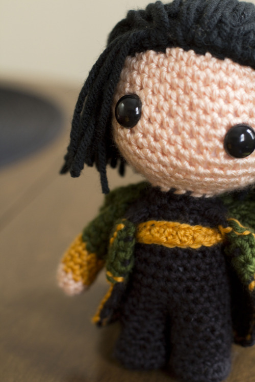 raspberryjellyfish:  Loki is almost ready for his debut!