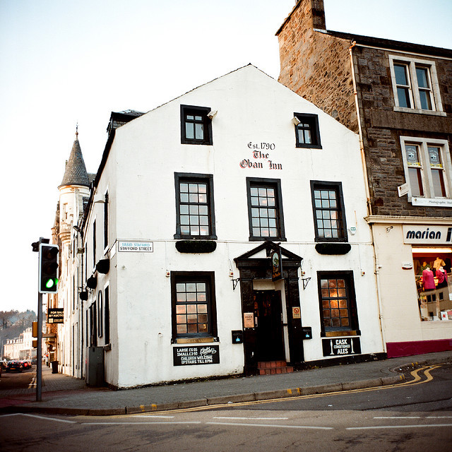 | ♕ |  The Oban Inn -  Oban, Scotland  | by © Peter Gutierrez