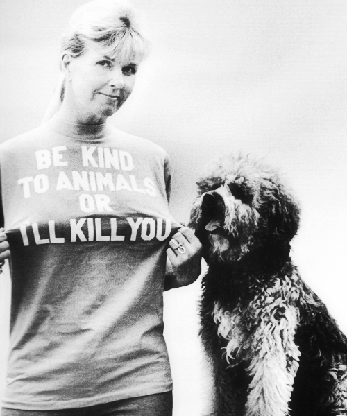 Doris Day, Beverly Hills, 1973. Photographed by Ellen Graham.   Go Doris!